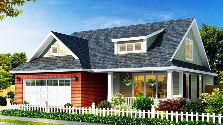 Traditional House Plan 66532 Elevation