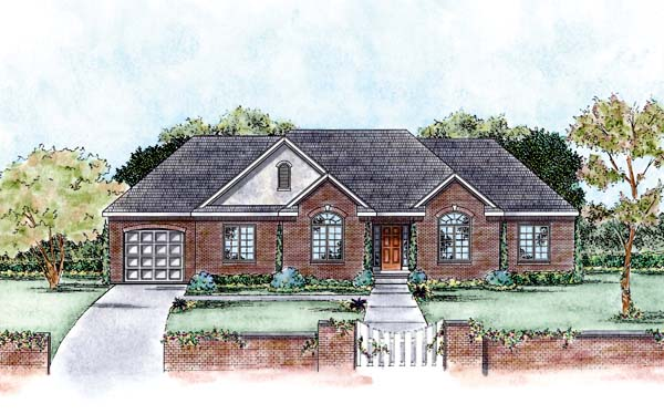 Traditional House Plan 66562 Elevation