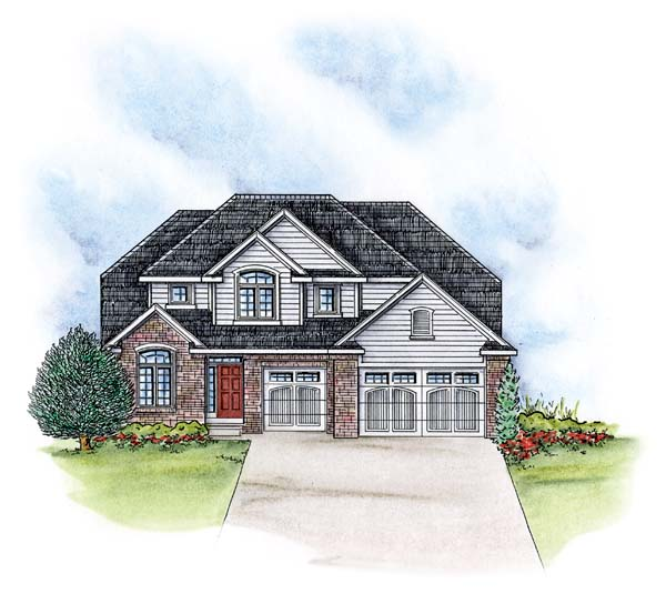 Traditional House Plan 66578