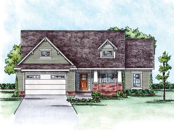 Craftsman House Plan 66587 Elevation