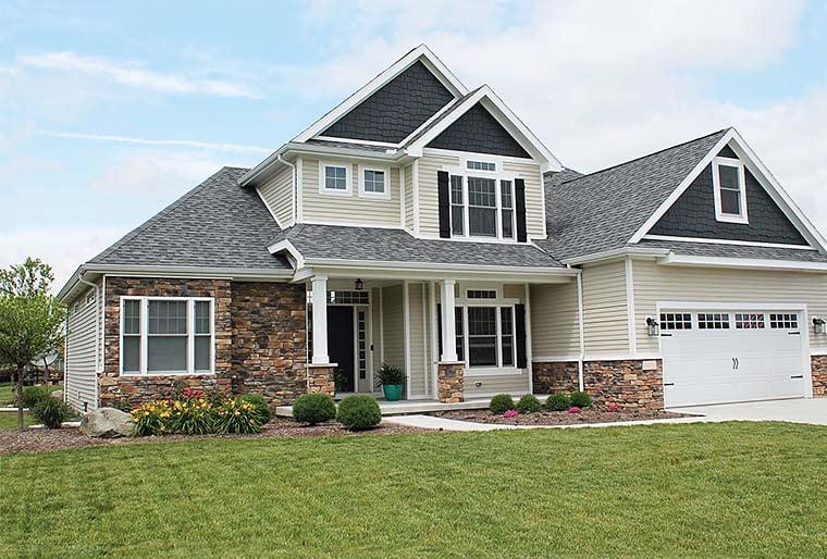 Craftsman House Plan 66610 Elevation