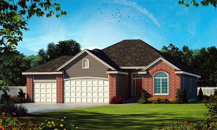 Traditional House Plan 66645