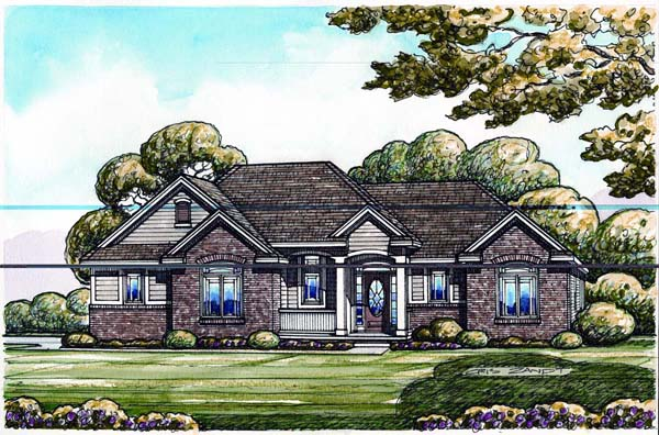 House Plan 66666 at FamilyHomePlans.com