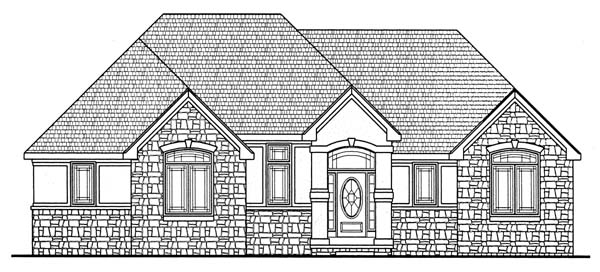 Traditional House Plan 66668 Elevation