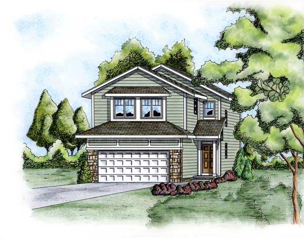 Traditional House Plan 66672 Elevation