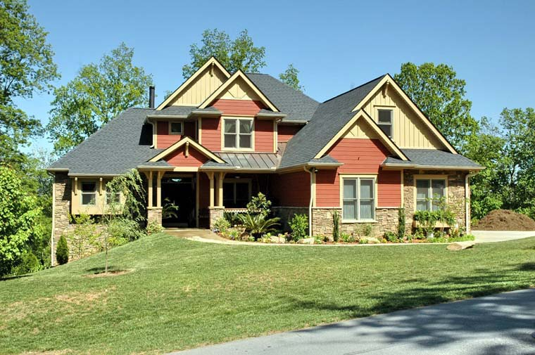 Country European House Plan 66681 Elevation