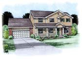 Plan Number 66705 - 2501 Square Feet