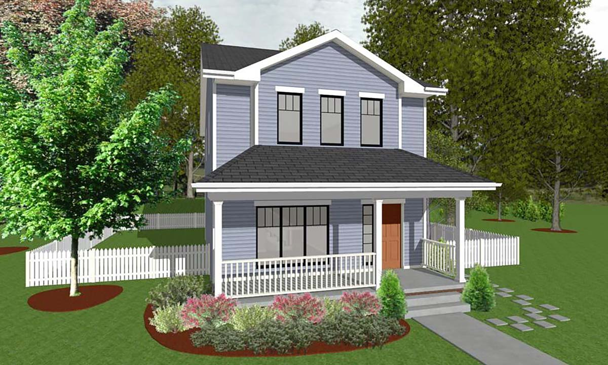House Plan 66715