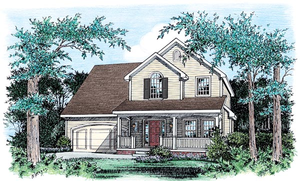 Traditional House Plan 66716 Elevation