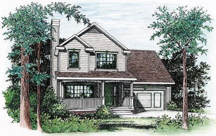 House Plan 66721
