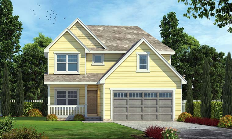 Country Southern Traditional House Plan 66760 Elevation