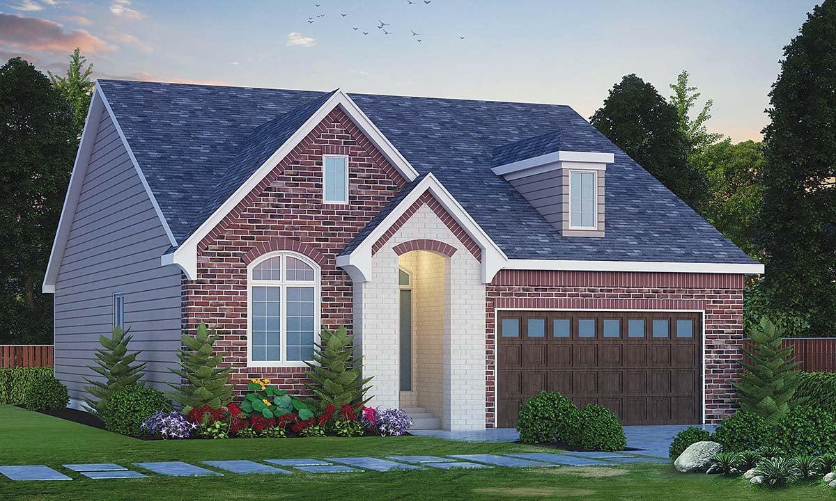 House Plan 66787 Elevation