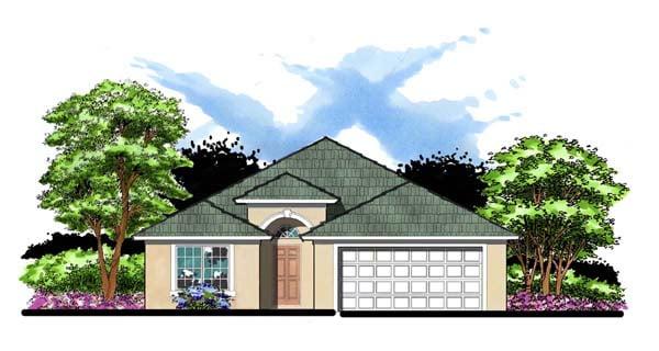 Florida House Plan 66802 Elevation