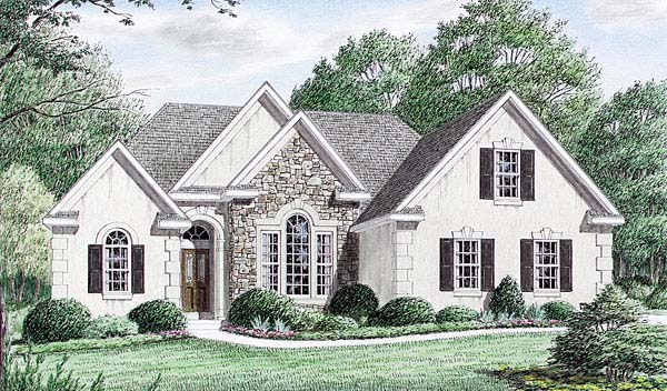 Traditional House Plan 67013