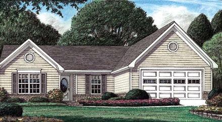 House Plan 67025