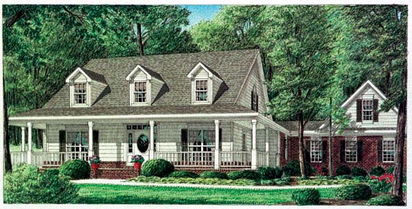 Country House Plan 67089