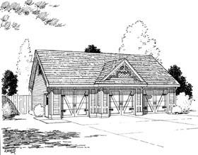 Garage Plan 67200