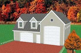 Garage Plan 67283