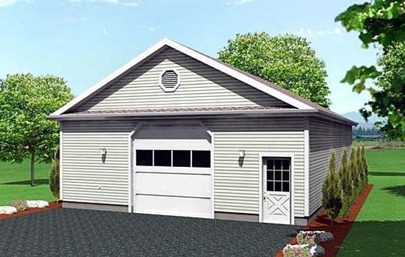 Garage Plan 67294