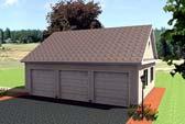 Garage Plan 67296