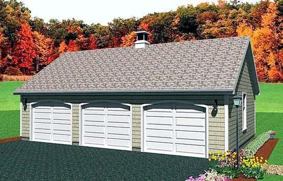 Garage Plan 67298