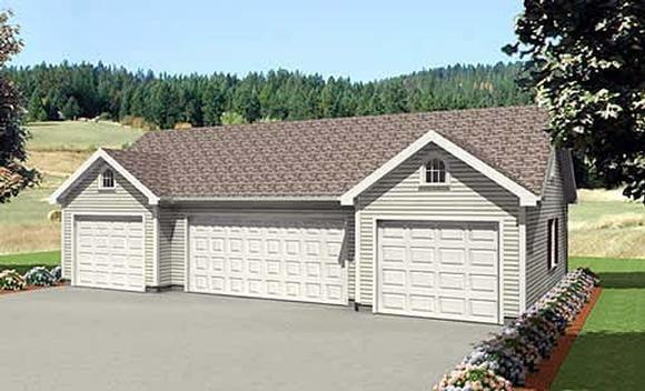Garage Plan 67303