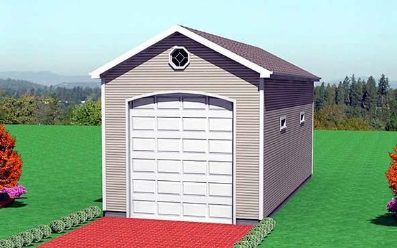 Garage Plan 67305