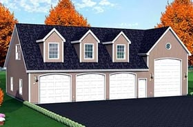 Plan Number 67306 - 1044 Square Feet