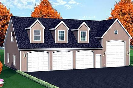 Garage Plan 67306