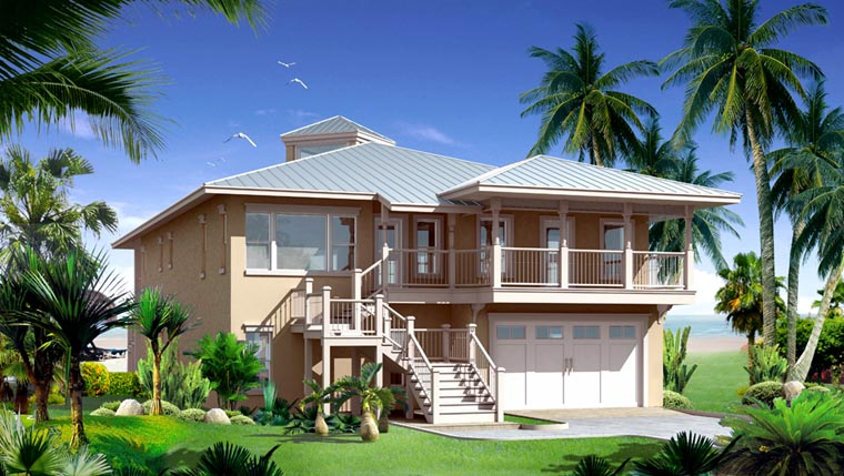 Contemporary House Plan 67511 Elevation