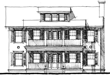 Southern House Plan 67522 Elevation