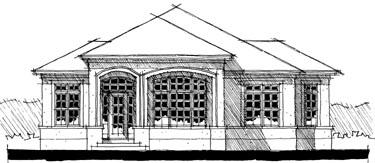 Mediterranean House Plan 67528 Elevation