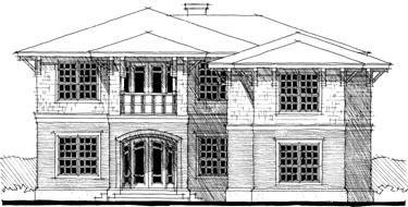 Southwest House Plan 67529 Elevation