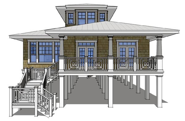 House Plan 67536 At Familyhomeplans.Com