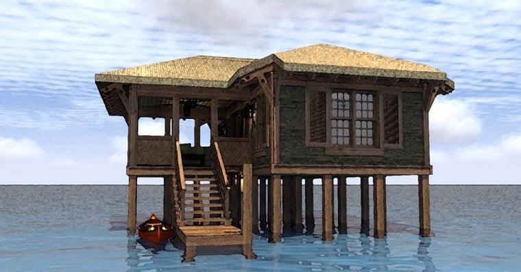 Coastal House Plan 67540