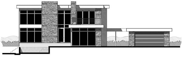 Building Front Glass Elevation : House plan at familyhomeplans