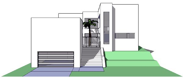 Coastal Modern House Plan 67546 Elevation