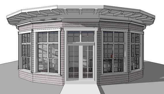 Modern House Plan 67557 Elevation