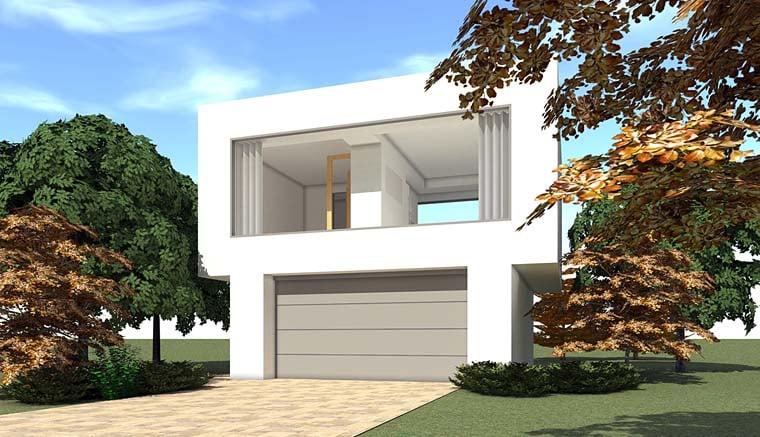 Contemporary Garage Plan 67589 Elevation
