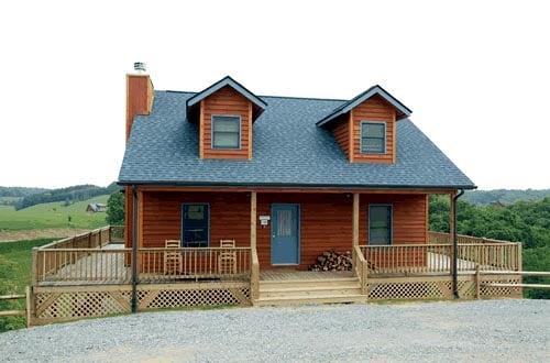 Cape Cod House Plan 67604 Elevation