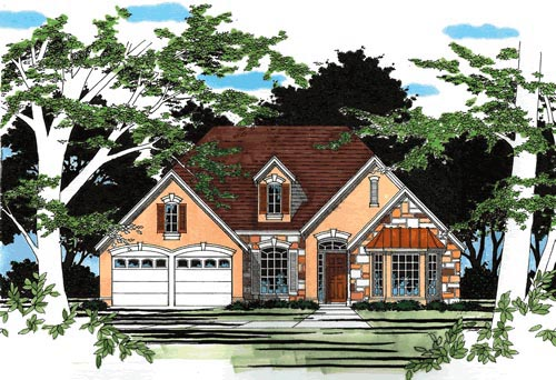 Traditional House Plan 67681 Elevation