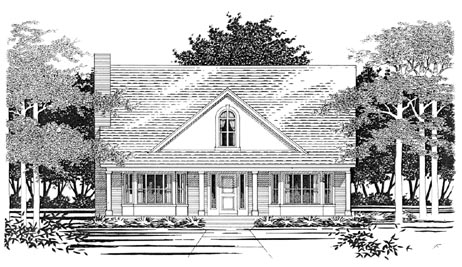 Traditional House Plan 67684 Elevation