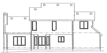 Traditional House Plan 67805 Rear Elevation