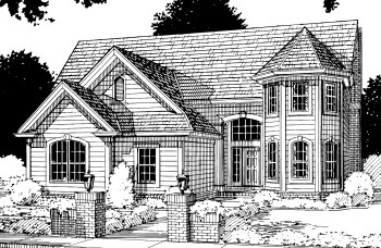 Traditional House Plan 67807 Elevation