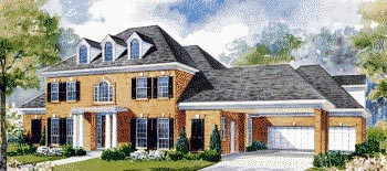 Colonial House Plan 67832 Elevation