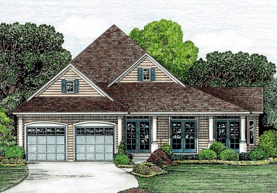 Country House Plan 67872 Elevation