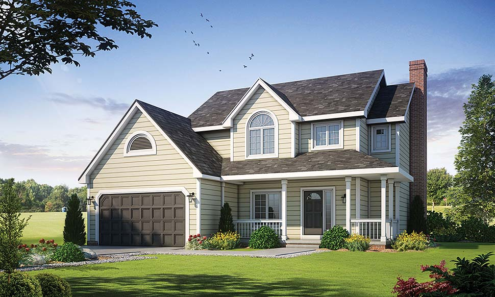 Traditional House Plan 67938 Elevation