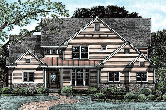 Country House Plan 67941