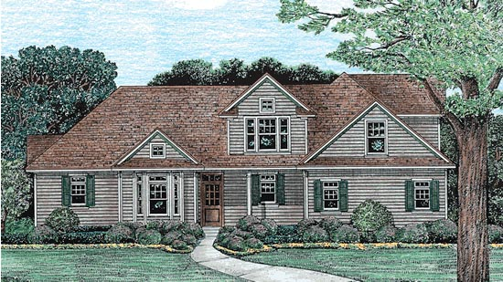 Traditional House Plan 67943