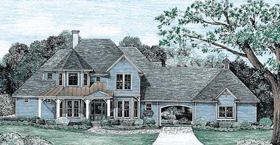 Victorian House Plan 67947